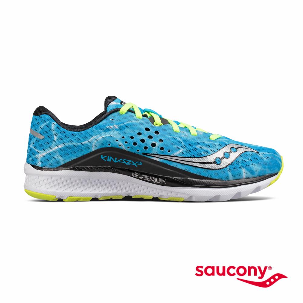 SAUCONY KINVARA 8專業訓練鞋-湛藍海洋