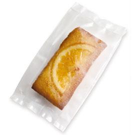 《荷包袋》折角點心袋 透明 6.5*12.7(霧面) 50入/包