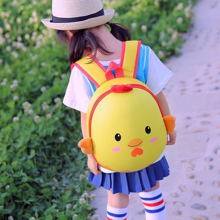 兒童後背包幼兒園男女孩可愛卡通硬殼書包2-5歲小朋友兒童旅行後背蛋殼背包諾克男神
