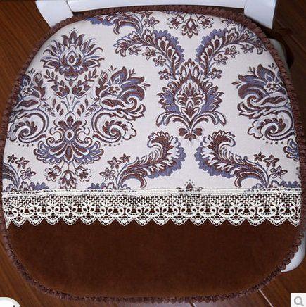 高檔毛絨椅子坐墊加厚