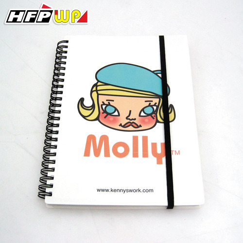 3折 HFPWP 手札 (A5) Molly 名師設計精品 環保材質 MOSA5
