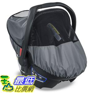 美國直購Britax S01284300 UPF 50推車專用遮罩遮陽遮雨B-Covered All-Weather Car Seat Cover