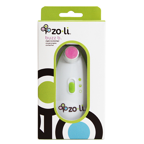 Zo-Li ZoLi幼兒電動磨甲機-綠色含4種搓刀片Vivian小V寶推薦