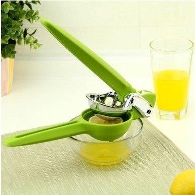 Love Shop手壓式柳丁榨汁器擠壓器迷你榨汁機蔬果汁壓汁器榨柳丁汁檸檬汁廚房用品翡翠檸檬
