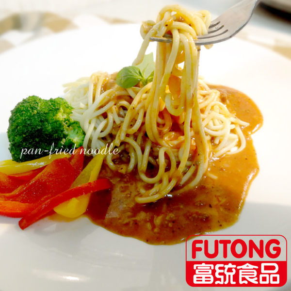 【富統食品】金品黑胡椒鐵板麵 (300g/包)
