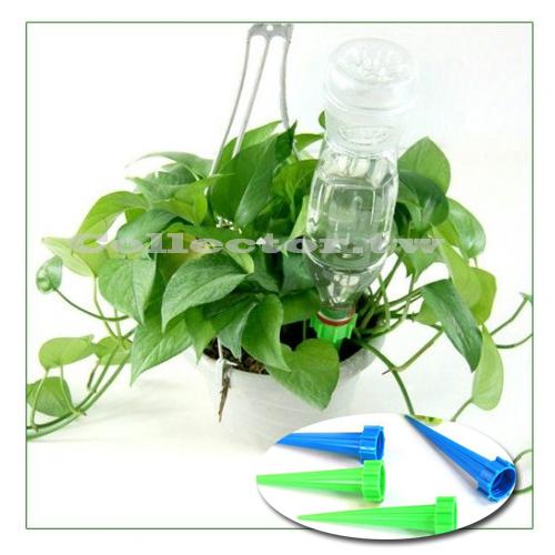 F16071802自動澆花器4入裝物理現象澆水法滲水器灑水器盆栽補水器盆栽花草灌溉