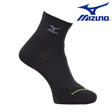 加大尺寸大尺碼美津濃MIZUNO基本款男運動厚底短襪32TX600297黑X灰