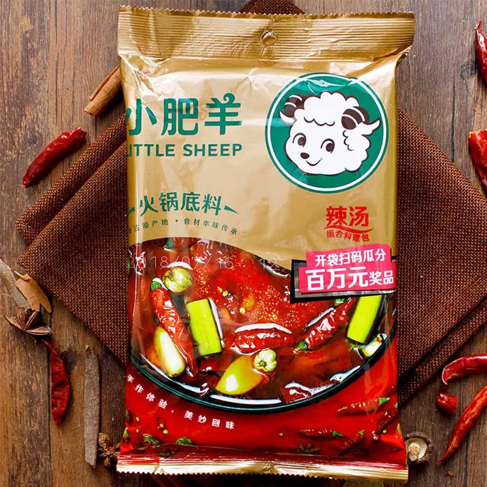 【ParisJason】正宗內蒙古小肥羊麻辣湯底 最新包裝 無任何豬成份 FD012
