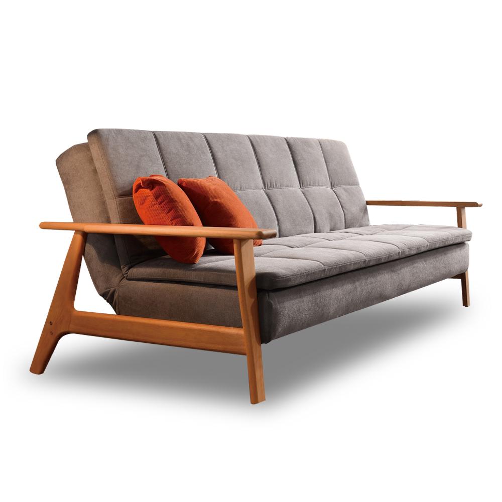 沙發時尚屋C7雷克斯沙發床C7-721-1免組裝免運費沙發床