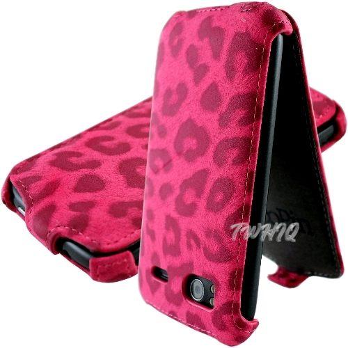 HTC Sensation 感動機 /Sensation XE 豹紋 下掀式皮套 防撞包角限定款◆贈送! 專用型韓風閃亮亮晶鑽套◆