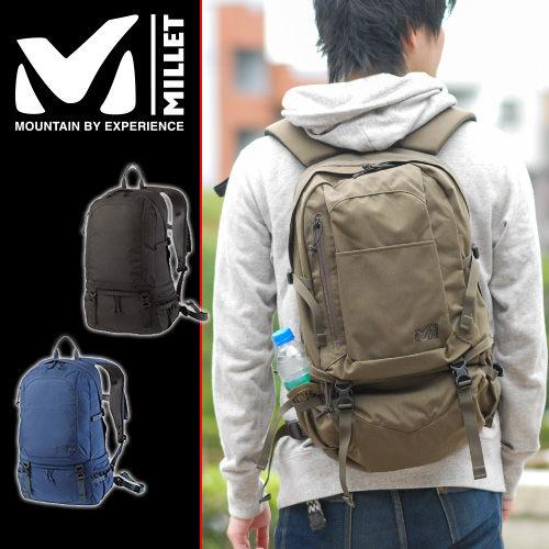 山水網路商城MILLET日系風格背包~小米小米輕便背包TARN 25 MIS 0463棕色男女兼用