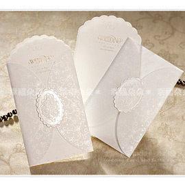 進口設計婚卡-玫瑰瑪亞-創意中式喜帖韓式西式請帖 幸福朵朵(請先留言數量,勿直接購買)