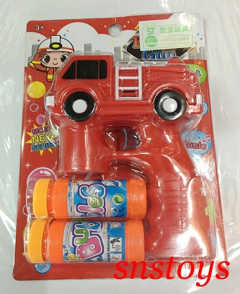 sns古早味消防車造型泡泡機電動聲光連發泡泡槍泡泡水1隻180元圖案顏色隨機出貨
