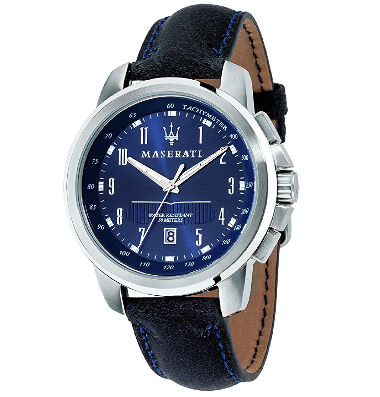 MASERATI WATCH-瑪莎拉蒂手錶-海神深藍款-R8851121003-錶現精品公司-原廠正貨-鏡面保固一年