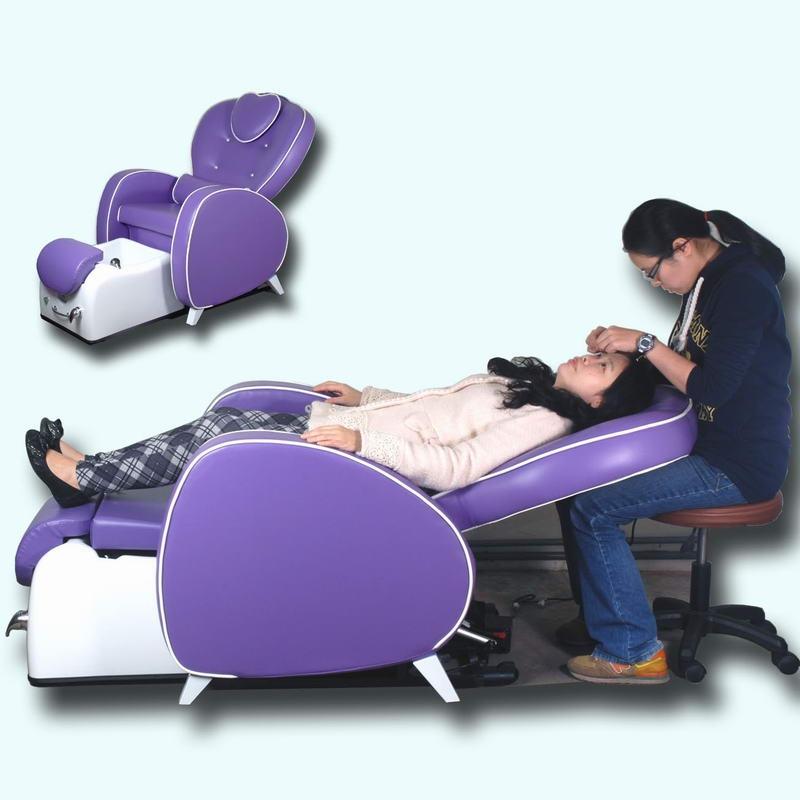 spa椅泡腳椅美甲椅足保椅腳保椅泡腳桶腳底按摩椅美甲桌美睫椅植睫椅美容床