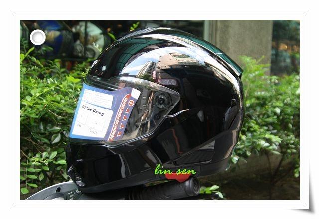 M2R安全帽F5素色黑