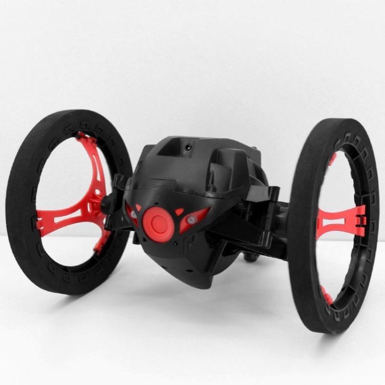 食尚玩家遙控特技彈跳車男孩無線跳躍遙控充電玩具車抗摔兩輪旋轉翻斗車