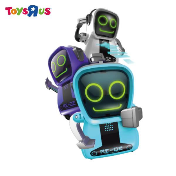 玩具反斗城 方程式口袋機器人-方頭