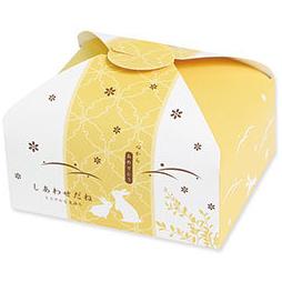《荷包袋》雙扣迷你盒 幸福小兔-芥末黃(10入/包)