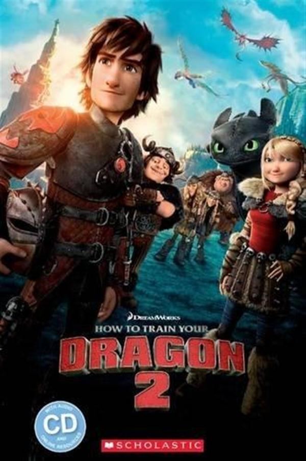 Scholastic Popcorn Readers Level 2:How to Train Your Dragon 2 with CD