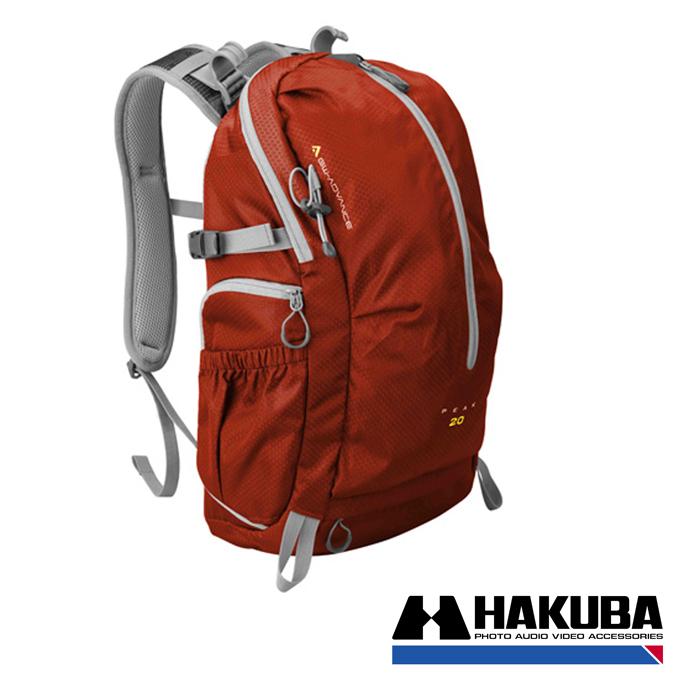 日本HAKUBA GW-ADVANCE PEAK 20先行者雙肩後背相機包紅色HA20448VT