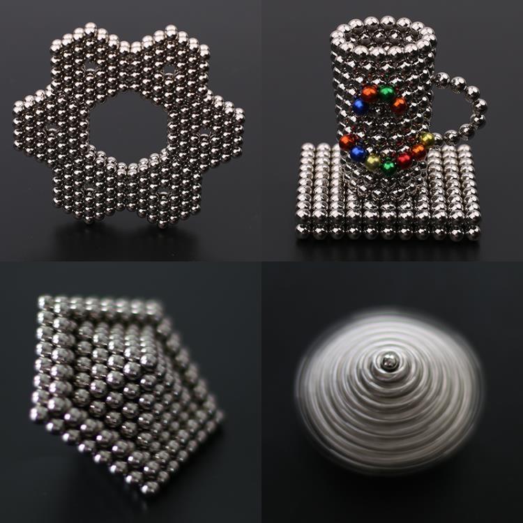 成人兒童解壓益智圓形魔力巴克球磁力強磁玩具3MM216顆LK2439【毛菇小象】