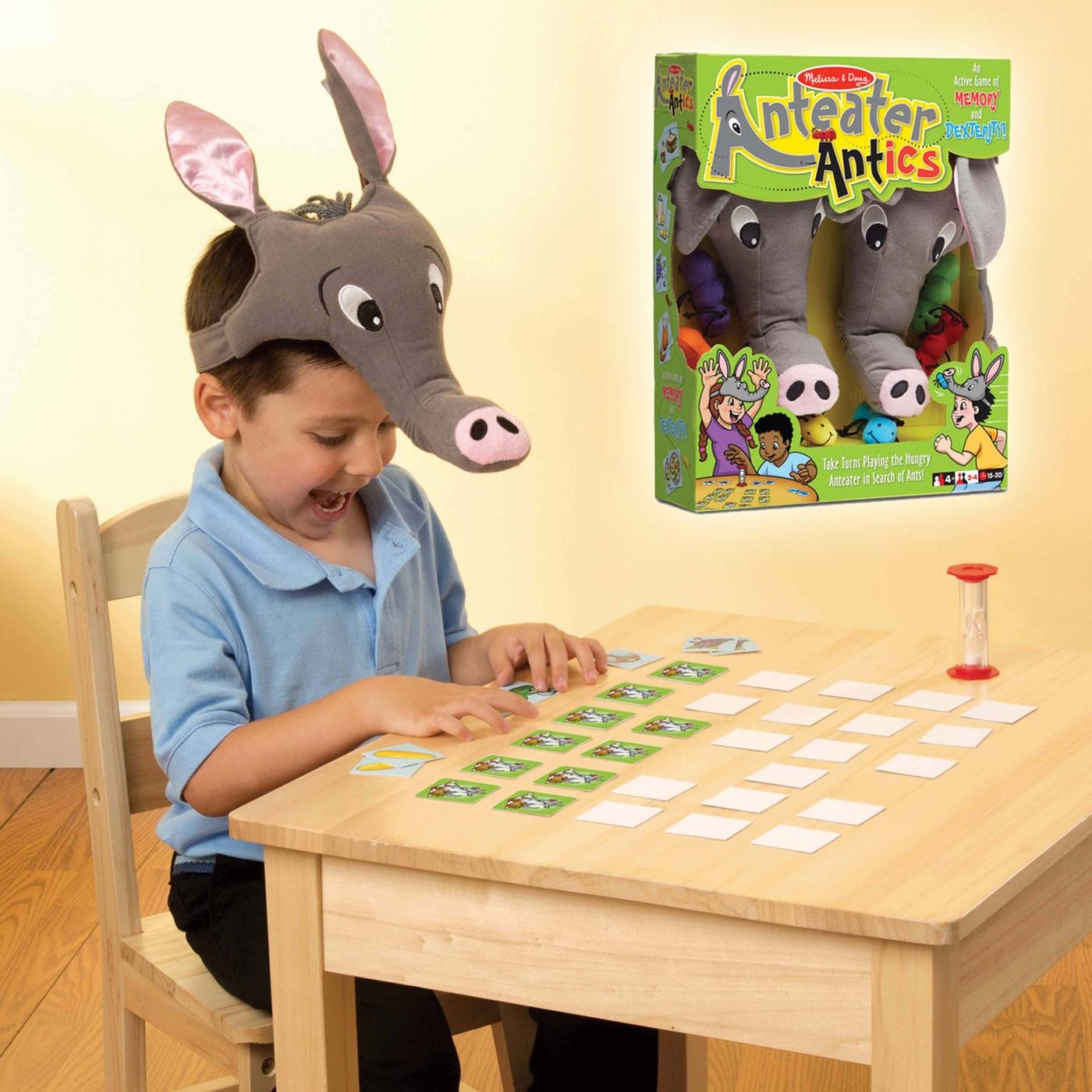 食蟻獸找食物 MD兒童幼兒教具玩具道具感官判別邏輯互動遊戲建構組裝創意發想學習手眼協調配對