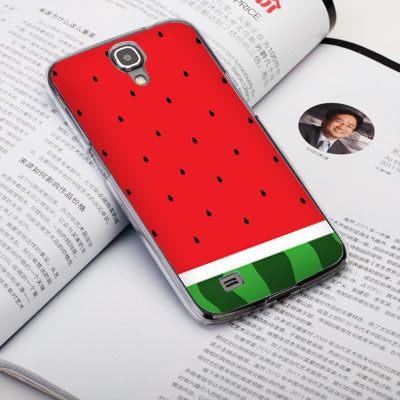 機殼喵喵三星Samsung i9500 Galaxy S4手機殼客製化照片外殼全彩工藝SZ074西瓜