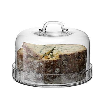 英國LSA Plate Dome Serve風味系列玻璃蛋糕盤