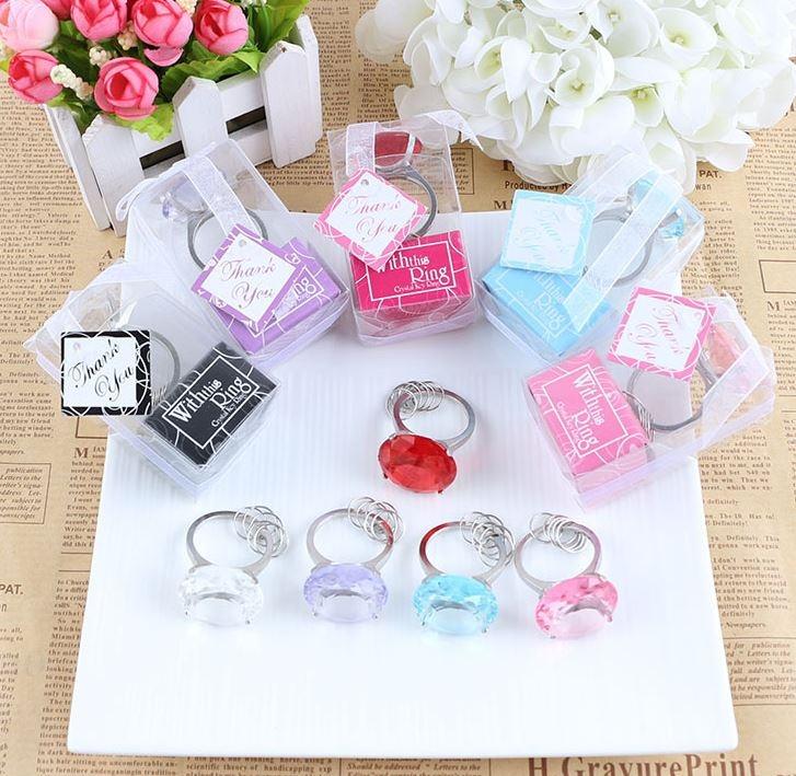 創意壓克力鑽石鑰匙圈/婚禮小物/婚宴贈品 39元