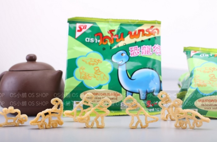 【限宅配】泰國 人氣小當家恐龍脆餅 可口隨手包12包/袋 海鮮口味 恐龍餅 DinoPark