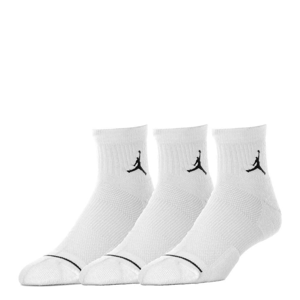 NIKE配件系列-U J EVERYDAY MAX ANKL 3PR 白色長襪-NO.SX5544100