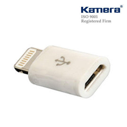Kamera  佳美能 轉接頭 for Micro USB轉Lightning 支援iPhone 5/iPad mini/iPad 4/iPod Touch 5/iPod Nano 7