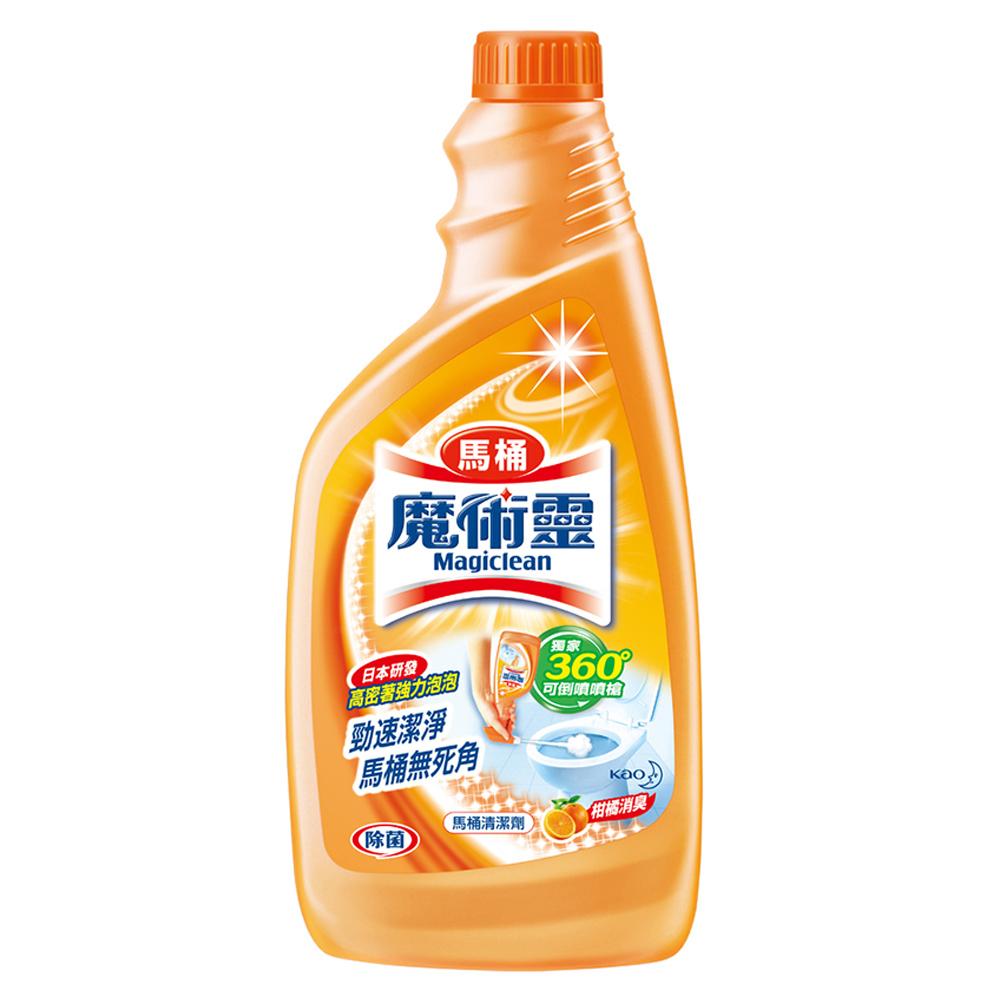 魔術靈 高密泡馬桶清潔劑 補充瓶 500ml │飲食生活家