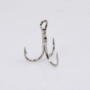 三爪鉤路亞鉤尖鋒利每盒4-5枚裝魚鉤