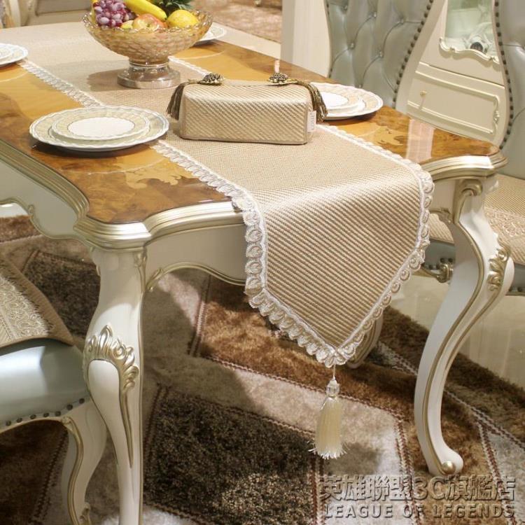 康佰思特冰絲藤席歐式桌旗茶幾桌巾餐桌布餐墊餐廳桌客廳茶藝