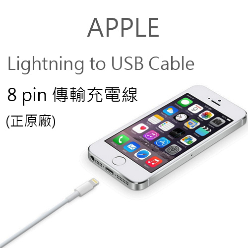 正原廠Apple Lightning to USB Cable原廠傳輸充電線