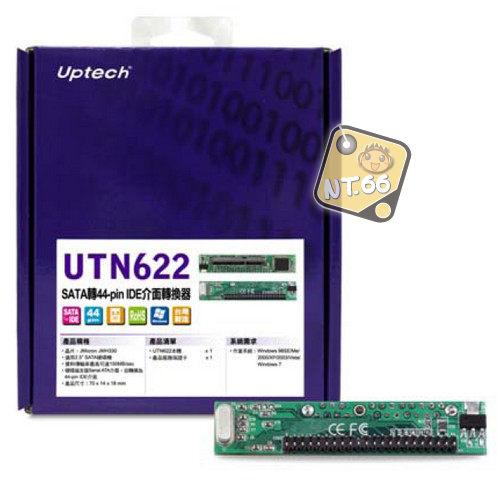 登昌恆 Uptech UTN622 SATA轉44-pin IDE 介面轉換器 介面轉換卡