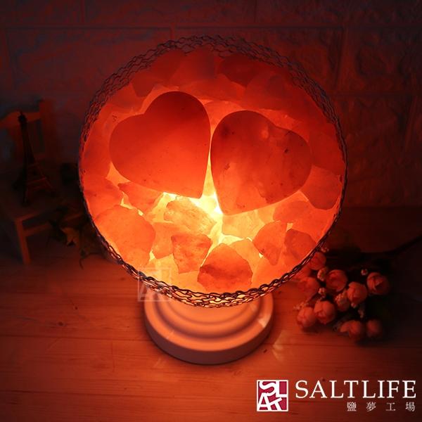 【鹽夢工場】創意造型鹽燈-愛圓滿