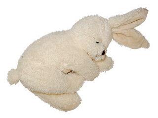 甜心絨毛趴趴兔玩偶 25cm (米白)【Les Petites Marie】