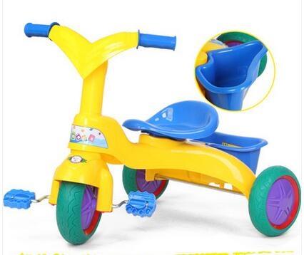 兒童三輪腳踏車小孩三輪自行車嬰兒車保寶窩寶寶腳踏三輪車童車-炫彩腳丫折扣店
