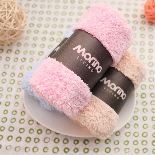 超細纖維素色小手巾