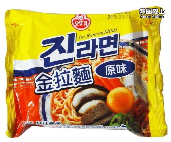 韓國不倒翁OTTOGI金拉麵-原味韓國必買泡麵
