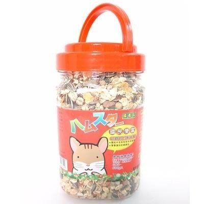 zoo寵物商城荷蘭鼠的國民便當鼠主食600g*1罐