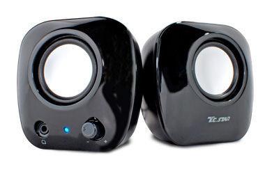 TCSTAR 連鈺 TCS2280 BK 喇叭 黑 USB界面  TCS2280BK【刷卡含稅價】