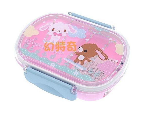 玩之內日本製焦糖兔甜點兔蜜糖邦妮盪鞦韆可微波便當盒保鮮盒066294