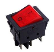 鉦泰生活館AC電工配件4P2段帶燈開關PC-7071