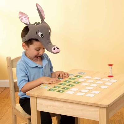 【華森葳兒童教玩具】益智邏輯系列-食蟻獸找食物 N7-9451