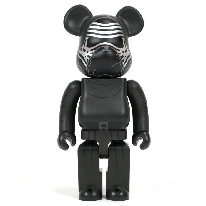 Poco玩具部全新Bearbrick Be rbrick星際大戰400凱羅忍凱洛瑞Kylo Ren
