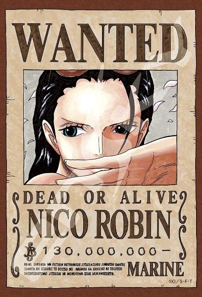 拼圖總動員PUZZLE STORY航海王新版懸賞單-羅賓日本進口拼圖Ensky海賊王One Piece 150P迷你
